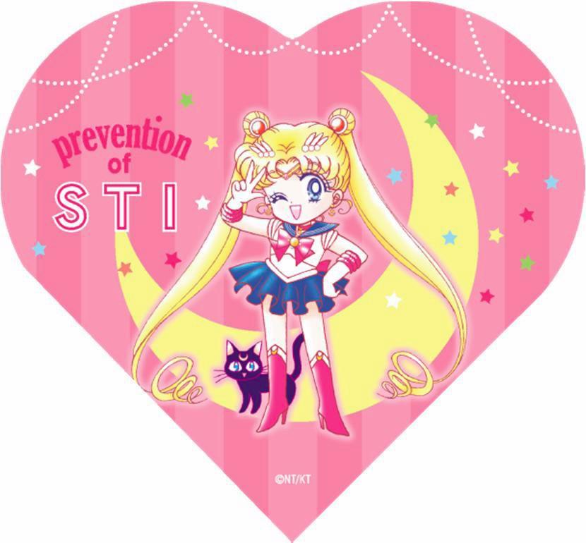 12月10日に配布するコンドームのパッケージ