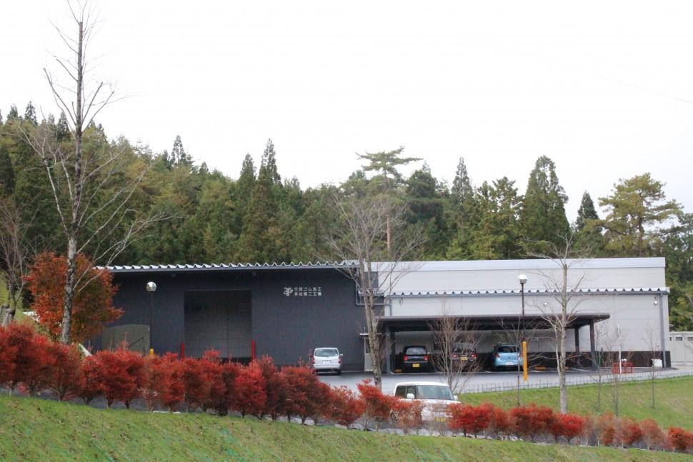 今年4月に本格稼働した本社第2工場