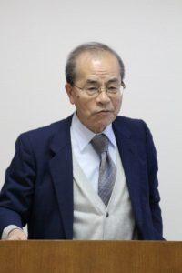 ゴムフォーラムの30年の歴史を振り返る竹村副会長