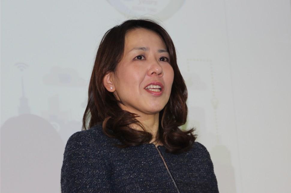 50周年セミナーで概要を説明する桜井CEO