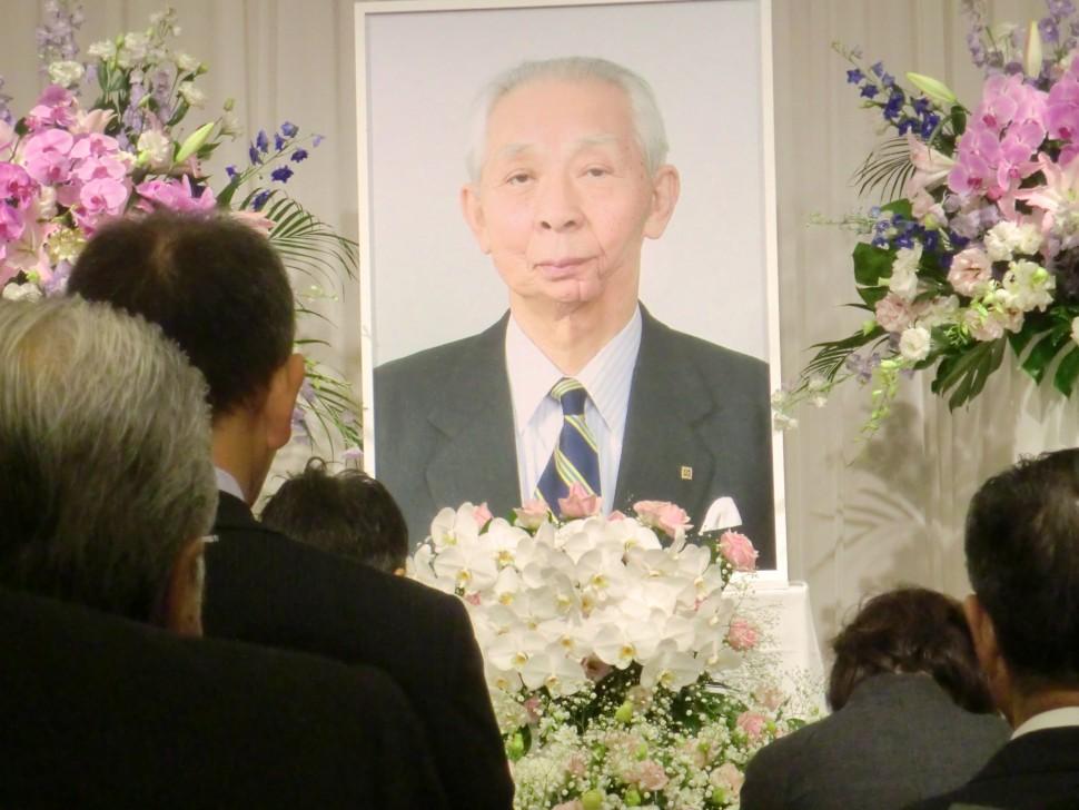 故中村氏のお別れの会