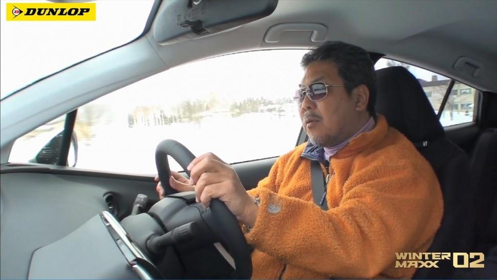 【動画】ダンロップ 郊外路編|ダンロップ WINTER MAXX 02 ドライビングインプレッション
