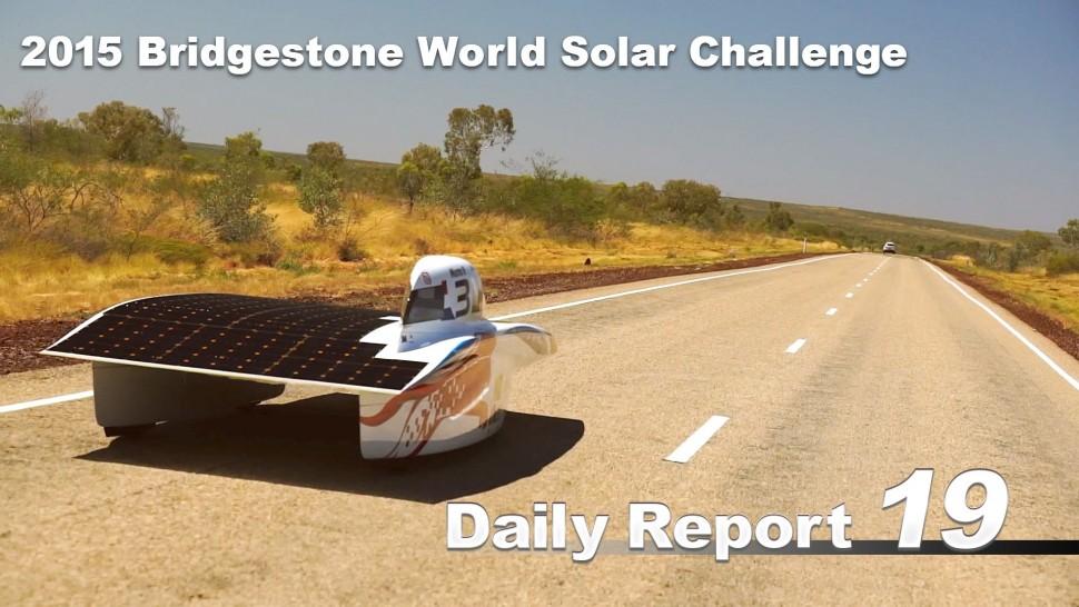 【動画】ブリヂストン 2015 Bridgestone World Solar Challenge (Bridgestone Summary Video)15sec