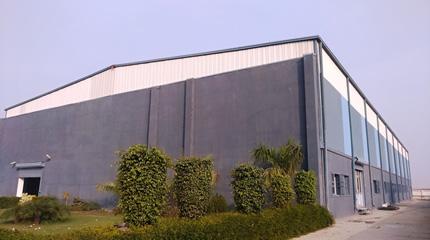 バンドー(インディア)本社の新工場