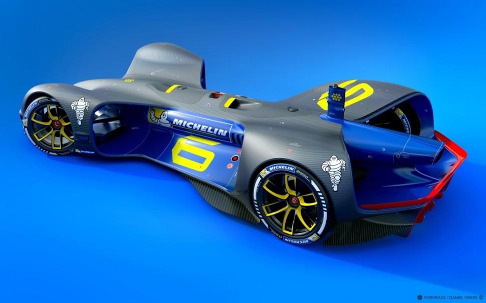 ミシュランタイヤ装着ロボカーのイメージ