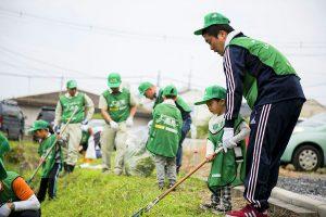 ムサシトミヨ生息地草刈り(埼玉県)