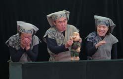 2016年度公演の一幕「わらしべ長者」