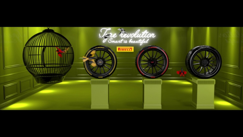 【動画】ピレリ Ginevra Showcase – SMART IS BEAUTIFUL. TYRE REVOLUTION