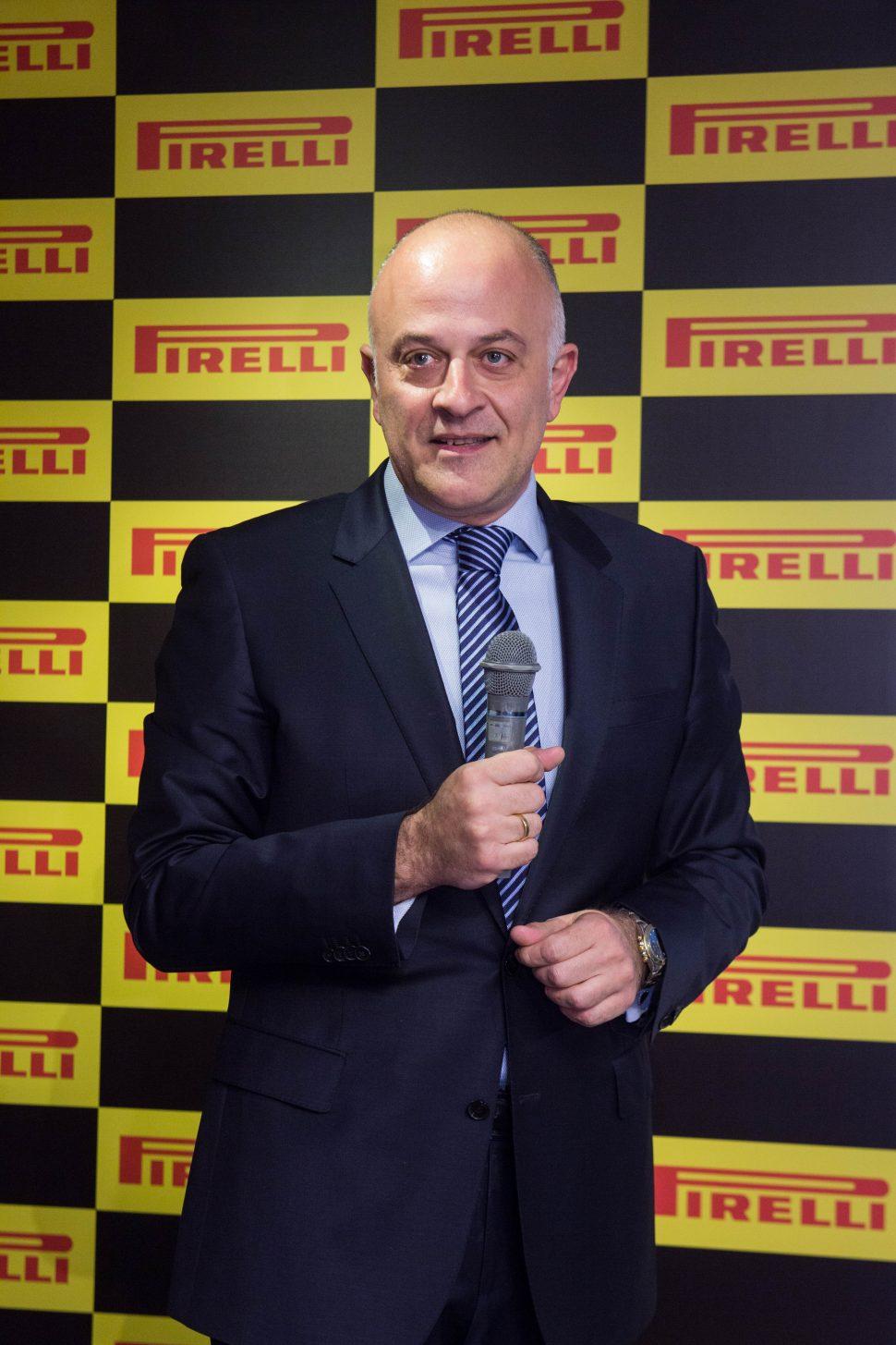 ピレリジャパン代表取締役社長CEOのディミトリオス・パパダコス氏