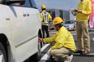 タイヤ空気圧管理の重要性を呼びかけた