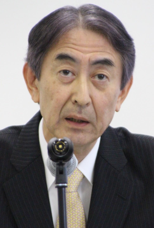 新中計の説明を行う田中社長