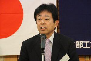 魅力ある組合活動にしていくと述べる川島理事長