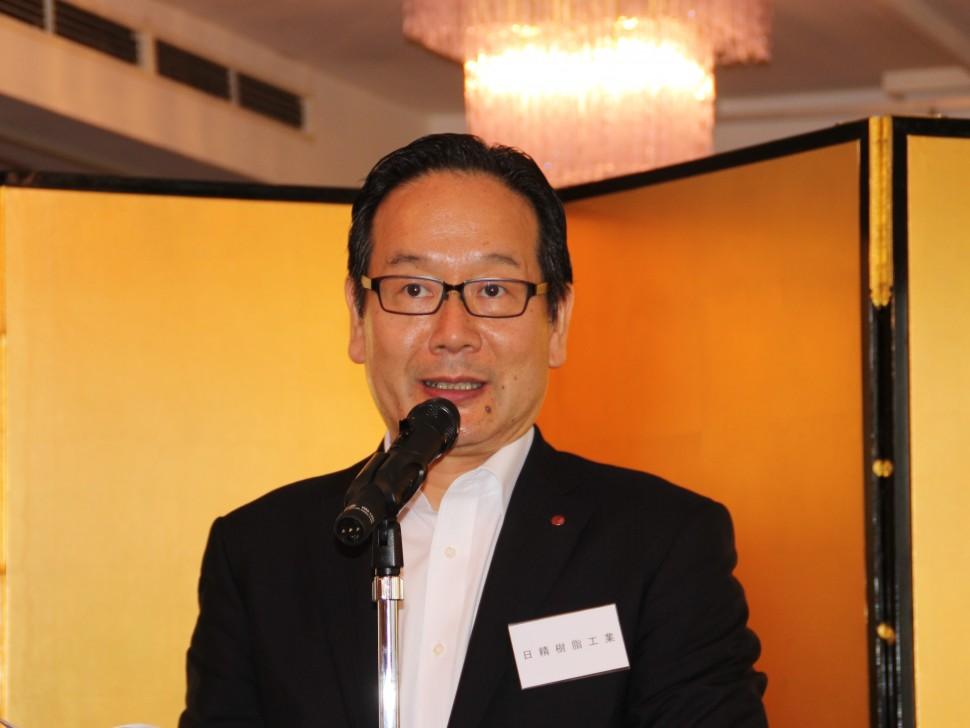 依田会長のあいさつ