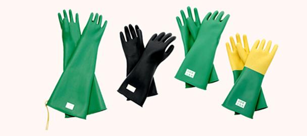 ハナキゴム 導電性手袋・指サックに注力 インフラ工事需要に期待