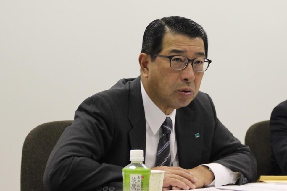 岡本良幸社長
