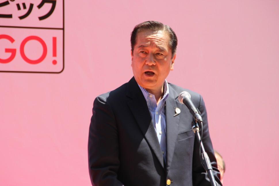 オリンピックムーブメントを盛り上げていきたいと語る、西山副会長