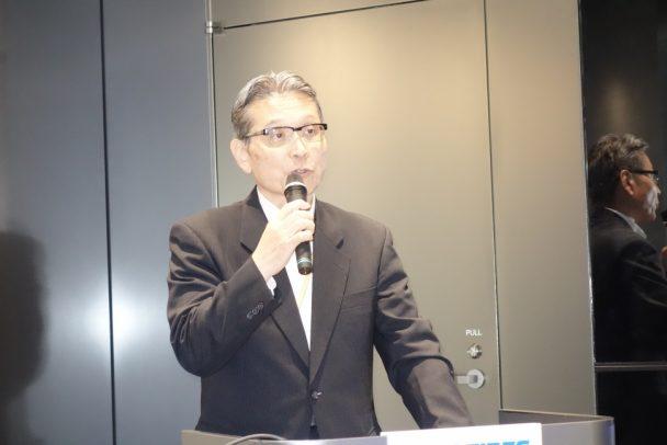 取締役常務執行役員コーポレート統括部門管掌櫻本保氏