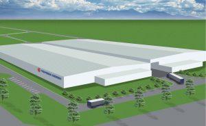 ベトナム新工場(完成予想図)