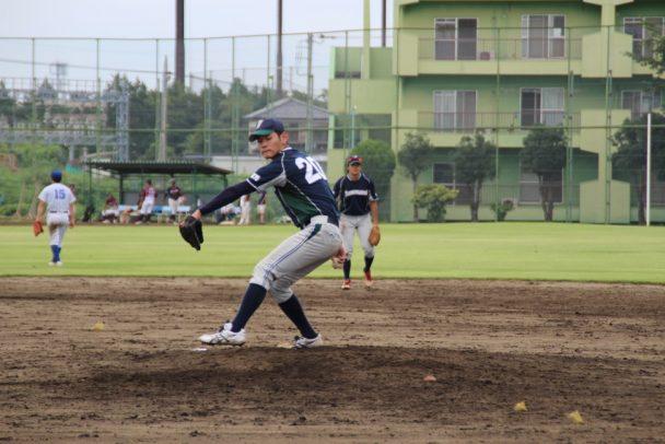 大会を通じて見事な投球を見せ、Aクラスの最優秀選手に選ばれた神山投手