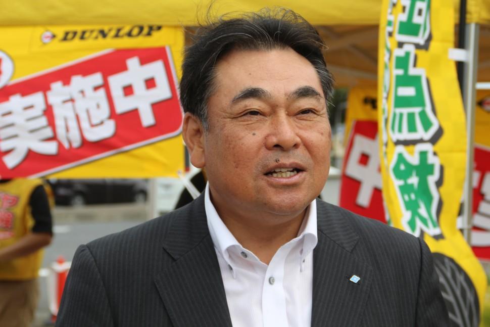 増田タイヤ国内リプレイス営業本部長