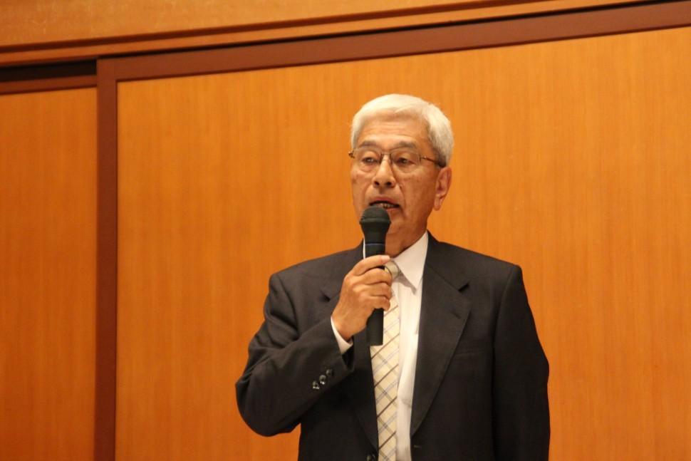 小杉副理事長のあいさつ