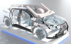 安全・環境ワイヤーフレームデモカー