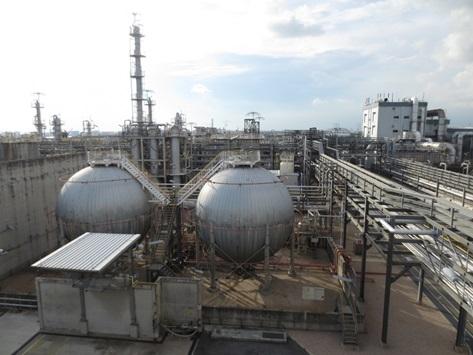 旭化成シンセティックラバーのシンガポール工場