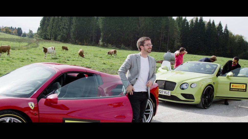 ピレリ動画 Pirelli P Zero World Munich Opening