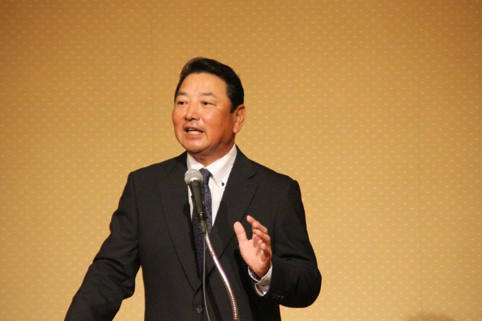 巨人の打撃総合コーチに就任した吉村氏が講演を行った