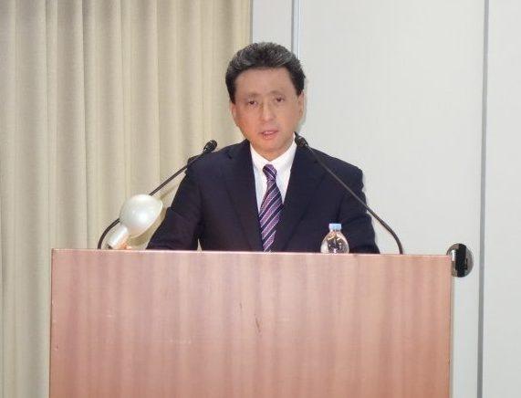 GD2020を説明する山石昌孝社長