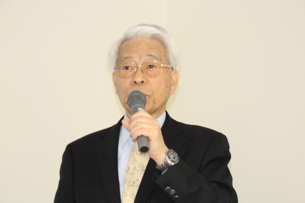 野田会長のあいさつ