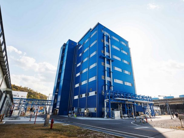 韓国・麗水の製造拠点