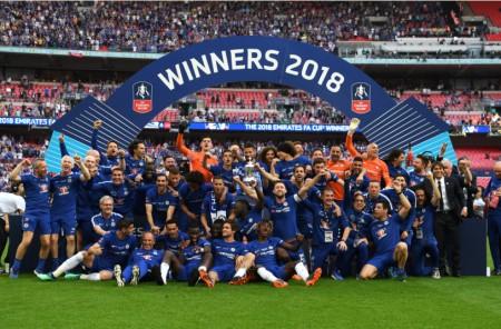 FAカップで優勝したチェルシーFC