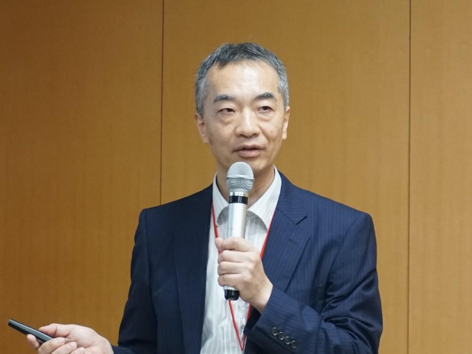 ImPACTの進捗状況を説明した伊藤プログラム・マネジャー