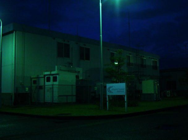 豊橋事業所の2017年のキャンペーン実施の様子(消灯後)