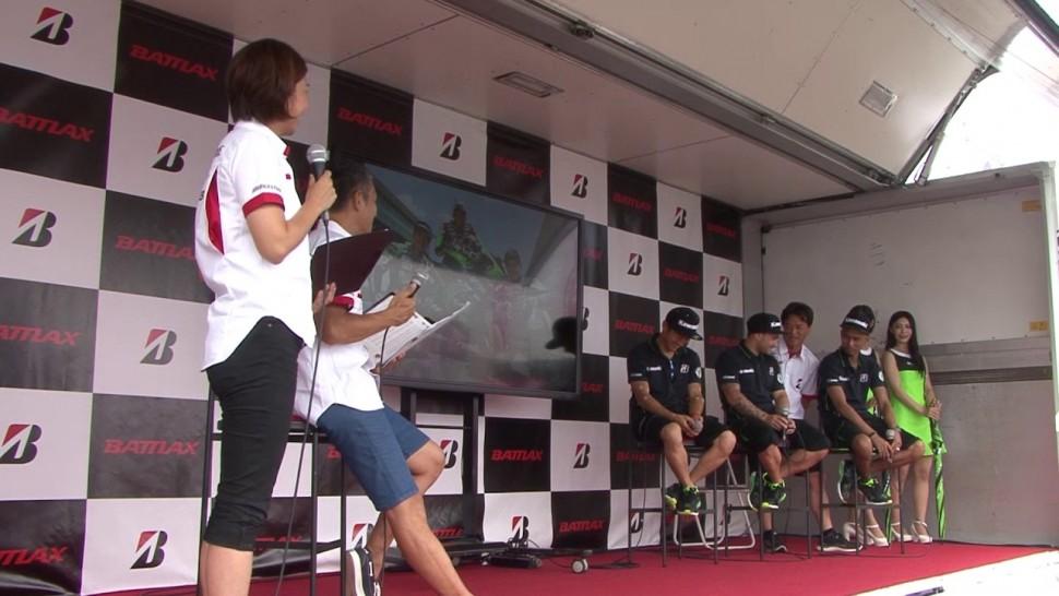 ブリヂストン動画 8耐 0729 2 1サポートチームライダー Kawasaki Team GREEN