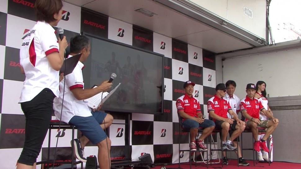 ブリヂストン動画 8耐 0729 2 2サポートチームライダー ヨシムラスズキMOTULレーシング