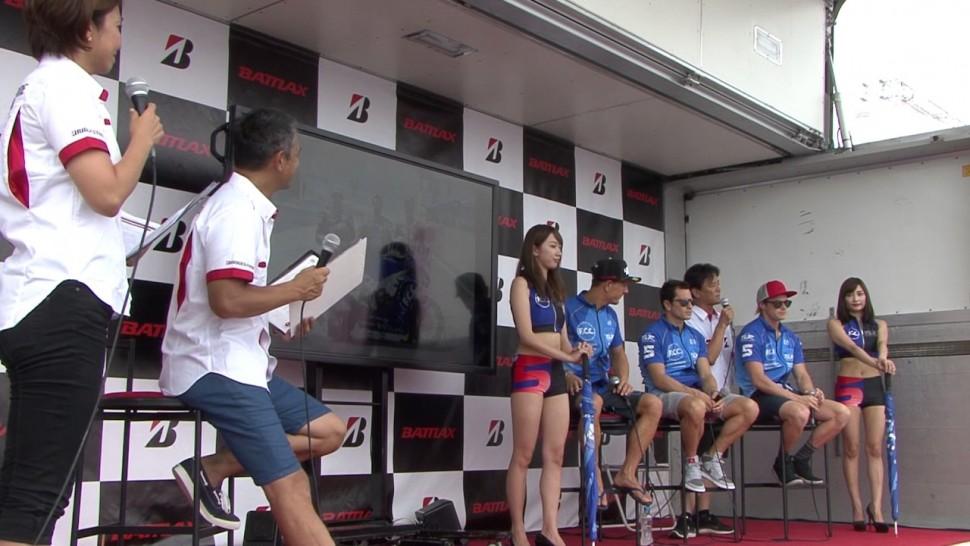 ブリヂストン動画 8耐 0729 2 4サポートチームライダー F.C.C. TSR Honda