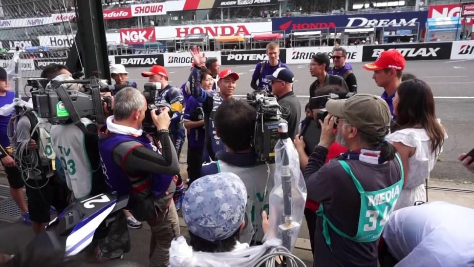 ブリヂストン動画 8耐 0729 4 トップ10トライアル ポール確定後