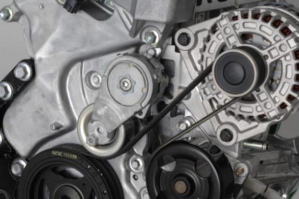 自動車エンジン補機駆動用ベルト「リブエース」