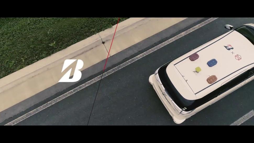 ブリヂストン動画 自動運転車両を用いたタイヤ騒音試験 / ブリヂストン
