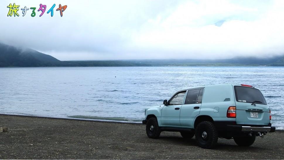 東洋ゴム動画 旅するタイヤ~千円札の富士山と出会えるキャンプ場篇~| TOYO TIRES