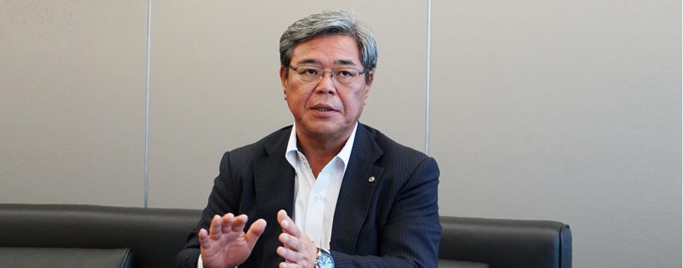 バンドー化学 吉井満隆社長
