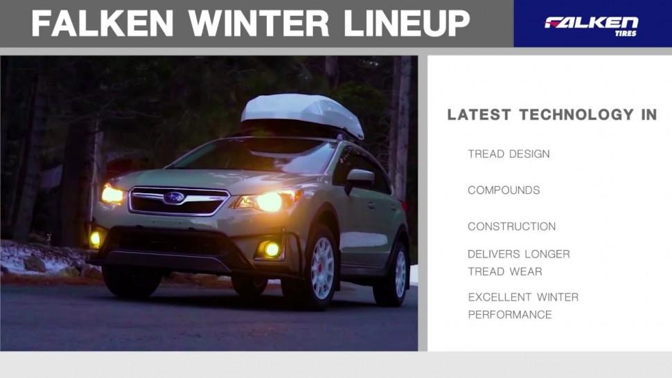 住友ゴム動画 The Falken Tires Range of Winter Tires