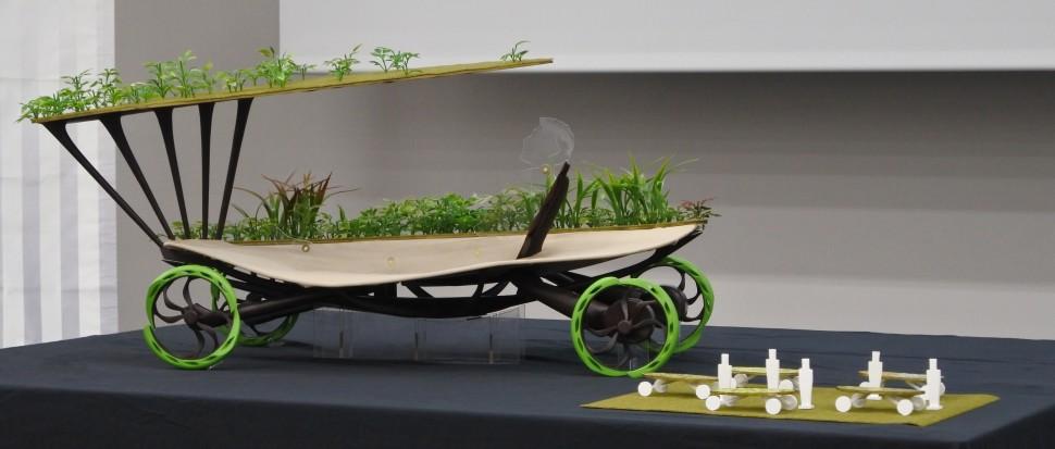 展示する先行デザインの一例