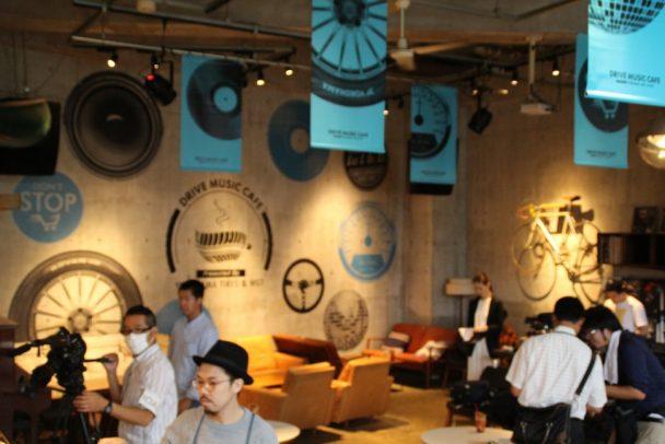 9月25日からオープンしたコラボレーションカフェ