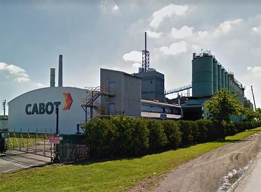 CABOTのWEBSITEよりCABOT社カナダSARNIA工場