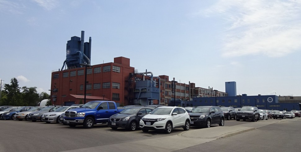 Airboss社の練り工場の写真