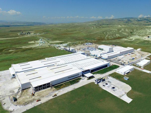 トルコ工場全景