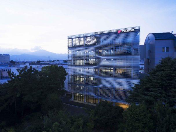 三菱地所設計 横浜ゴム研究開発センター第2ビル
